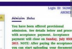 Unilorin admission list for 2015-16