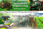 nigerian polytechnics offering agricultural engineering