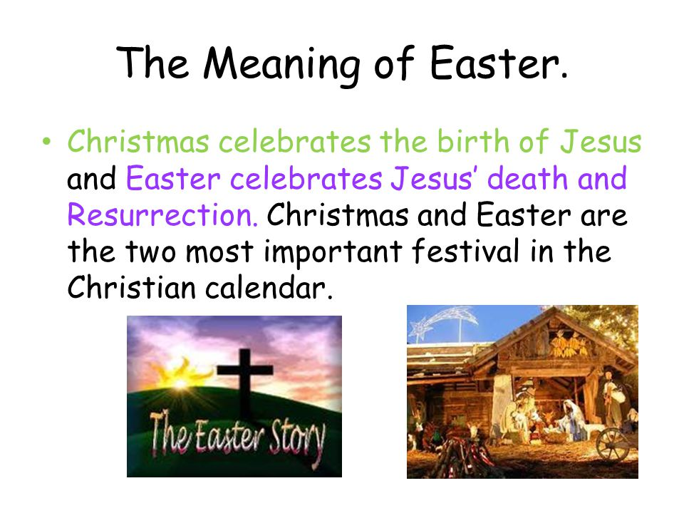 meaning of Easter